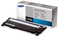 Cyan Toner Cartridge - CLT-C406S/XAA