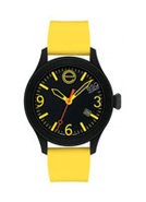 One By Movado Black/Yellow Unisex Watch - 7301432
