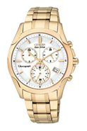 Eco-Drive Sport Chronograph Womens Stainless Steel