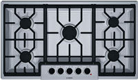 500 Series 36   Stainless Steel Gas Cooktop - NGM5