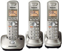 Silver Expandable Digital Cordless Phone System - 