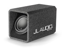 Single 10W6v3 H.O. Wedge Enclosed Subwoofer - HO11