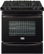 Gallery 30   Slide In Gas Range In Black - FGGS304