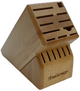 17-Slot Bamboo Knife Block - 22675