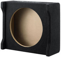 Downfiring Enclosure for 8   Shallow Subwoofer - U