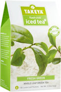 Flash Chill Iced Fresh Green Whole Leaf Green Tea