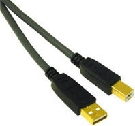 29144 Ultima 5m USB 2.0 A/B Cable In Charcoal - 29