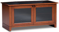 Novia Series TV Stand In Natural Stained Cherry Fi