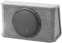 10   PowerWedge Single Subwoofer System - CS110RG-