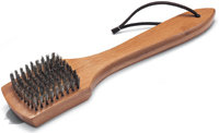 12   Bamboo Grill Brush - 6463