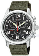 Eco-Drive Military Caliber H500 Mens Watch - AT020