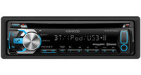 Single DIN In-Dash Car Stereo Receiver - KDC-BT555