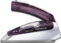 Purple First Class Travel Iron - DA1560
