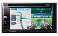 In-Dash Navigation AV Receiver With Bluetooth And