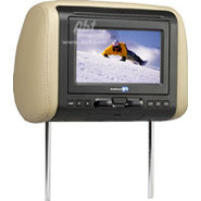 7   Rear Seat Headrest Monitor With Built-In DVD P