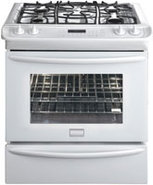 Gallery 30   Slide In Gas Range In White - FGGS306