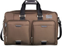 Network By Tumi Brown Soft Carry-On - 058052B