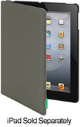 Canvas Charcoal iPad Case - SWCANP3CHA