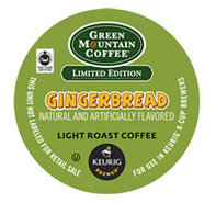18 Count Green Mountain Coffee Gingerbread Coffee