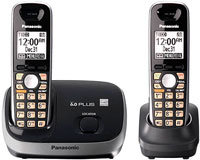 Black Expandable Digital Cordless Phone System - K