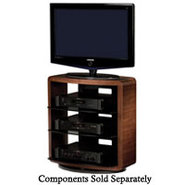 Valera Series Walnut AV Stand - VALERA9721CWL