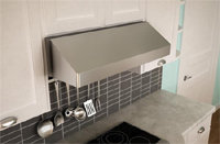 Gust 30   Under Cabinet Stainless Steel Range Hood