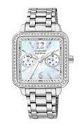 Eco-Drive Silhouette Womens Stainless Steel Watch 