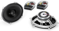 Evolution C5 5 x 7   Black Coaxial Speakers - C5-5
