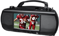 7   Portable Digital TV DVD/CD Mini System - TFDVD
