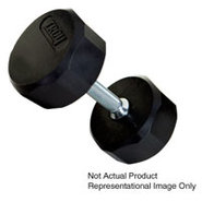 20lb 12 Sided Rubber Encased Dumbbell - TSD-020R