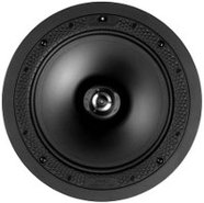 White Disappearing 8   In Ceiling Loudspeaker - DI