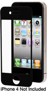 Black iVisor AG Screen Protector For iPhone 4 - 99