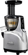 Chrome & Black Silent Juicer - NS-850