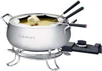 3-Quart Electric Fondue Pot - CFO-3SS