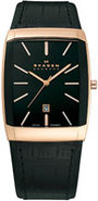 Black Label Rectangle Mens Watch - 984LRLB