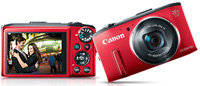 PowerShot SX280 HS Red Digital Camera - 8225B001