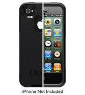 Black Commuter Series Case For iPhone 4/4S - 77185