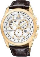 Chronograph WR100 White Dial Mens Watch - AT118307