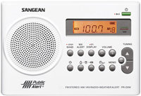 AM FM Weather Alert Rechargeable Portable Radio - 