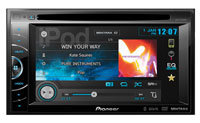 Double-DIN Multimedia DVD Receiver - AVH-X2500BT
