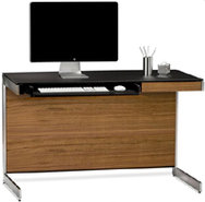 Sequel Series Walnut Compact Desk - SEQUEL6003WAL