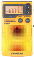 AM FM Digital Weather Alert Pocket Radio - DT-400W