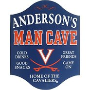 UVA Cavaliers Man Cave Sign
