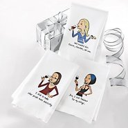 Party Girl Dish Towels (Set of 3)