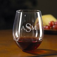 Monogrammed Wine Enthusiast U Cabernet/Merlot Stem
