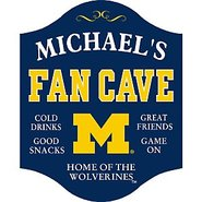 Michigan Wolverines Fan Cave Sign