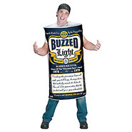 Beer Can Buzzed Light Men?s Costume