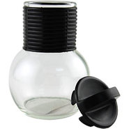 Glass Hottle with Plastic Lid