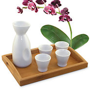 Sake Ceramic 5 Piece Set
