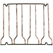 4 Channel Glass Rack - Copper